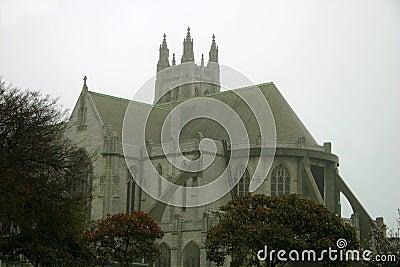 San Fracisco Gothic Stone Church