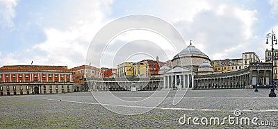 San Francesco di Paola, Plebiscito Square, Naples