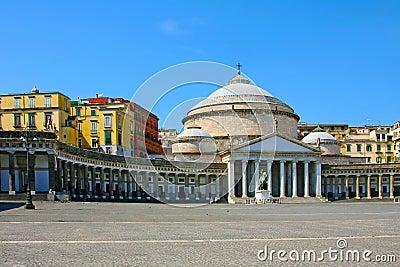 San Francesco Paola, Naples