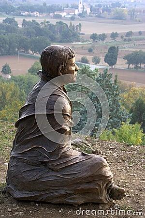 San Francesco statue
