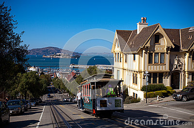 San Francisco Editorial Stock Photo