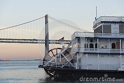 San Francisco Belle at dusk