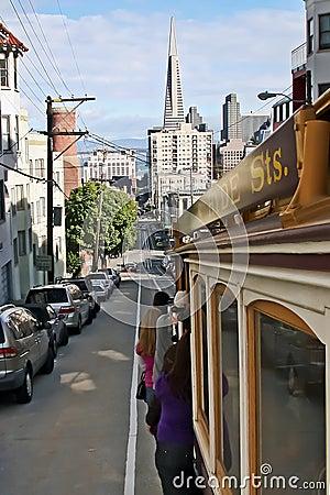 San Francisco cablecar Editorial Image