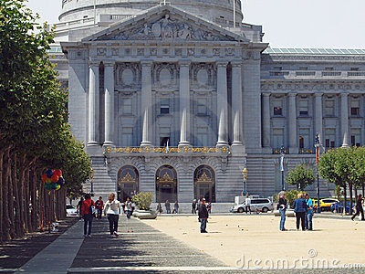 San Francisco City Hall Editorial Stock Image