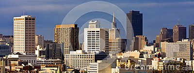 San Francisco Cityscape Panorama