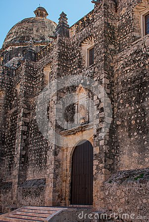 Free San Francisco De Campeche, Mexico: View Of The Former San Jose Cathedral. It Was The Main Temple Of The Jesuit Monastery, Now A Cu Royalty Free Stock Image - 114344216