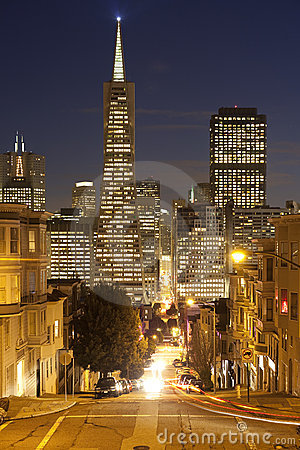 San Francisco Downtown.