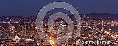 San Francisco Downtown Panorama