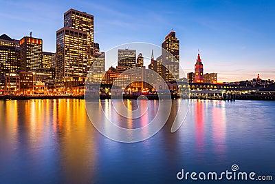 San Francisco en rouge et or