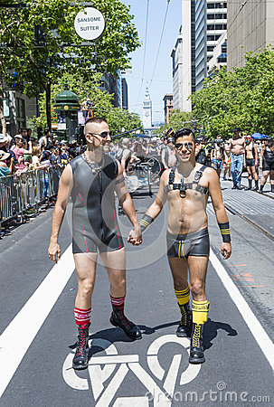 San Francisco gay pride Editorial Stock Photo