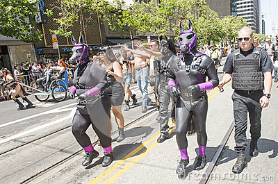 San Francisco gay pride Editorial Image