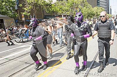 San Francisco gay pride Editorial Image