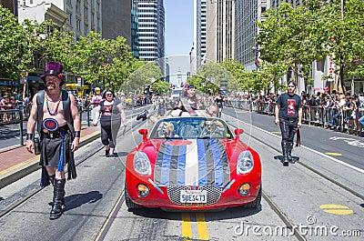 San Francisco gay pride Editorial Photo