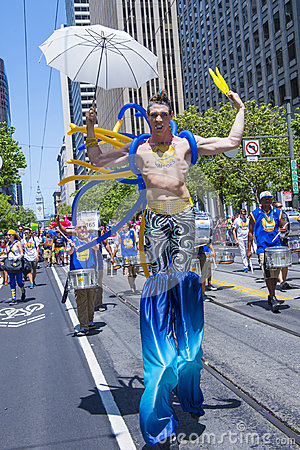 San Francisco gay pride Editorial Photo