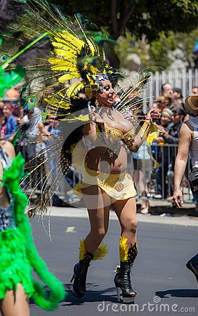San Francisco Gay Pride Parade 2012 Editorial Stock Image
