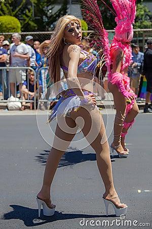 San Francisco Gay Pride Parade 2012 Editorial Image