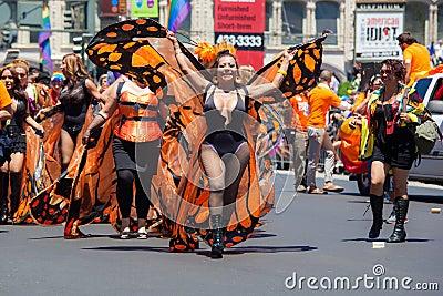 San Francisco Gay Pride Parade 2012 Editorial Stock Photo