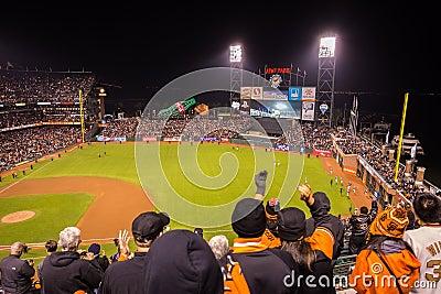 San Francisco Giants Editorial Image