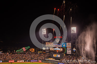 San Francisco Giants Editorial Stock Image