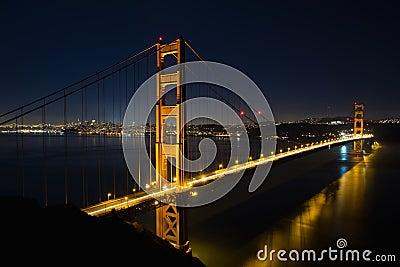 San Francisco Golden Gate Bridge at Blue Hour