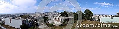 San Francisco hilltop panoramic