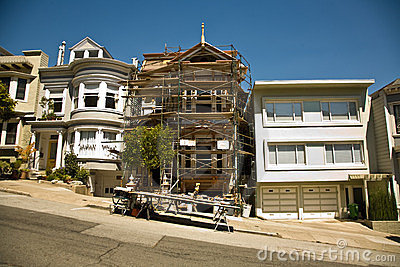 San Francisco, house in  framework