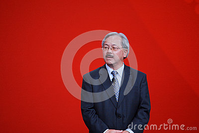 San Francisco mayor Edwin Lee welcomes Oracle OpenWorld 2013 conference Editorial Image