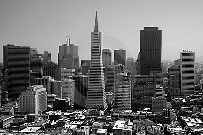 San francisco skyline Editorial Photo