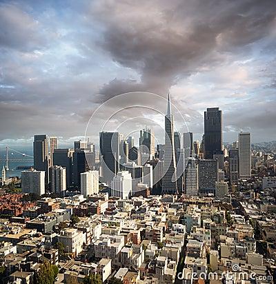 Free San Francisco Skyline Stock Photos - 8484593