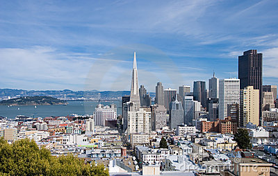 San Francisco skyline by day