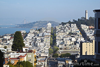 San Francisco skyline scene