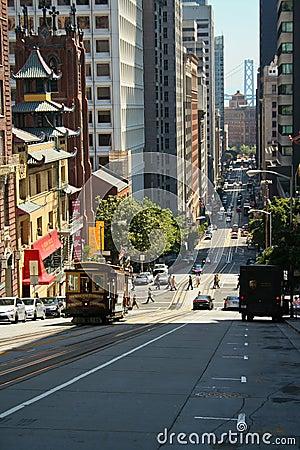 San Francisco street Editorial Stock Photo