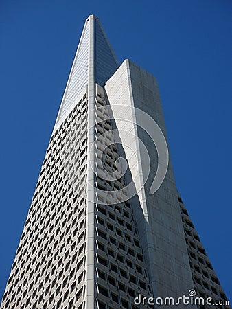 San francisco - transamerica pyramid Editorial Stock Image