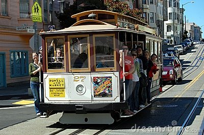 San Francisco Trolley Editorial Image