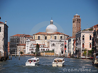San Geremia is a church in Venice Editorial Stock Photo