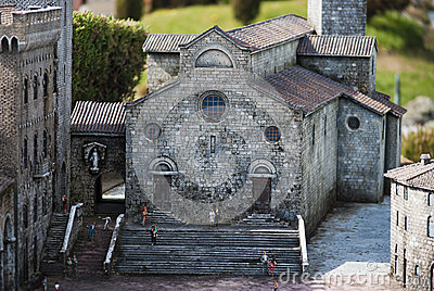 San Gimignano cathedral Editorial Image
