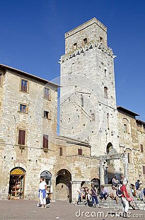 San Gimignano, Italy Editorial Photography
