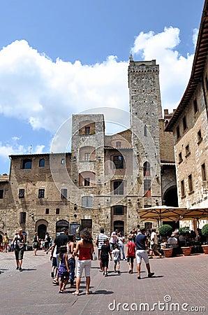 San Gimignano, Tuscany Editorial Photo
