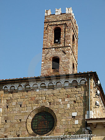 San Giovanni church. Lucca Tuscany