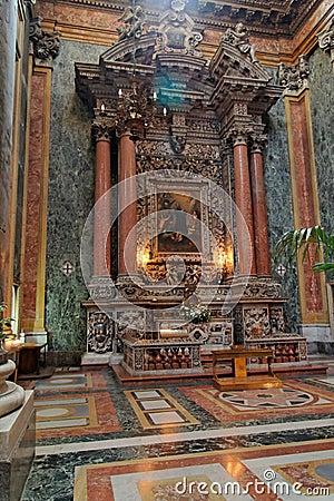 San Giuseppe dei Teatini Altar Sicily Italy