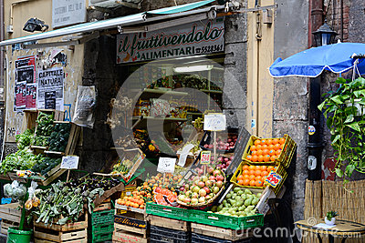 San gregorio armeno in Naples Italy Editorial Stock Image