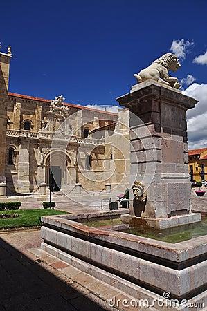 San Isidro basilica. Leon Spain