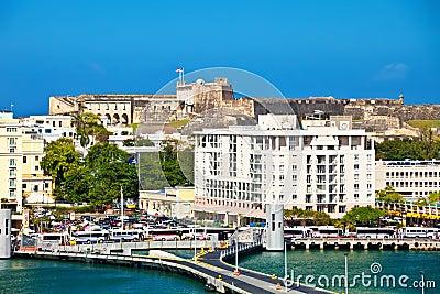San Juan Εκδοτική Φωτογραφία