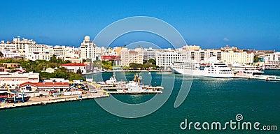 San Juan Redaktionell Arkivfoto
