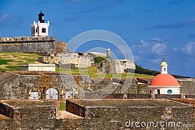 San Juan - El Morro Editorial Stock Image
