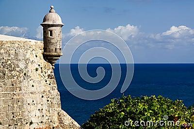 San Juan - El Morro Fortress Sentry Turret