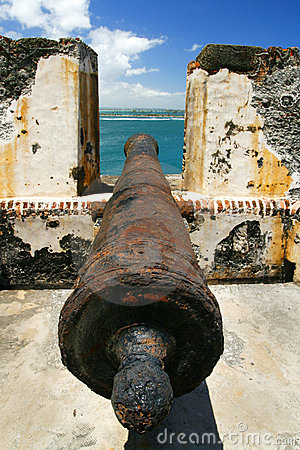 San Juan Puerto Rico - El Morro Cannon