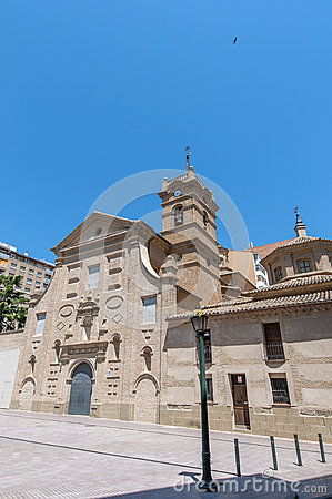 San Lorenzo Basilica at Huesca, Spain