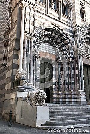 San Lorenzo cathedral Genoa