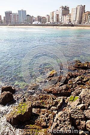 San Lorenzo´s beach, Gijón